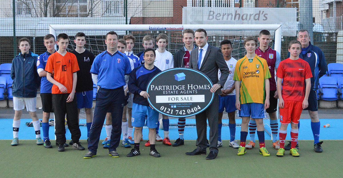 Partridge Homes photo with Solihull Galdes FC