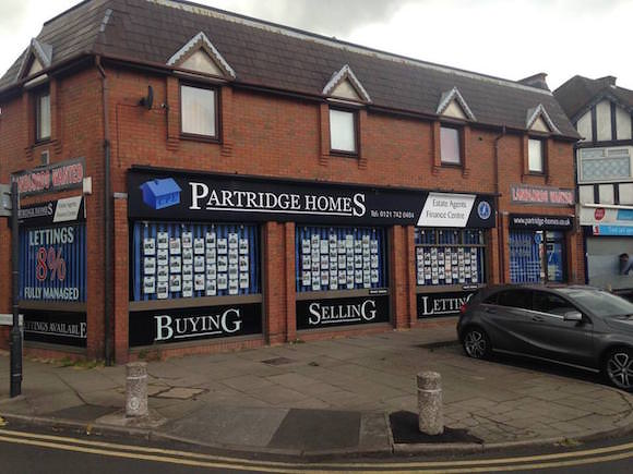 Partridge homes office
